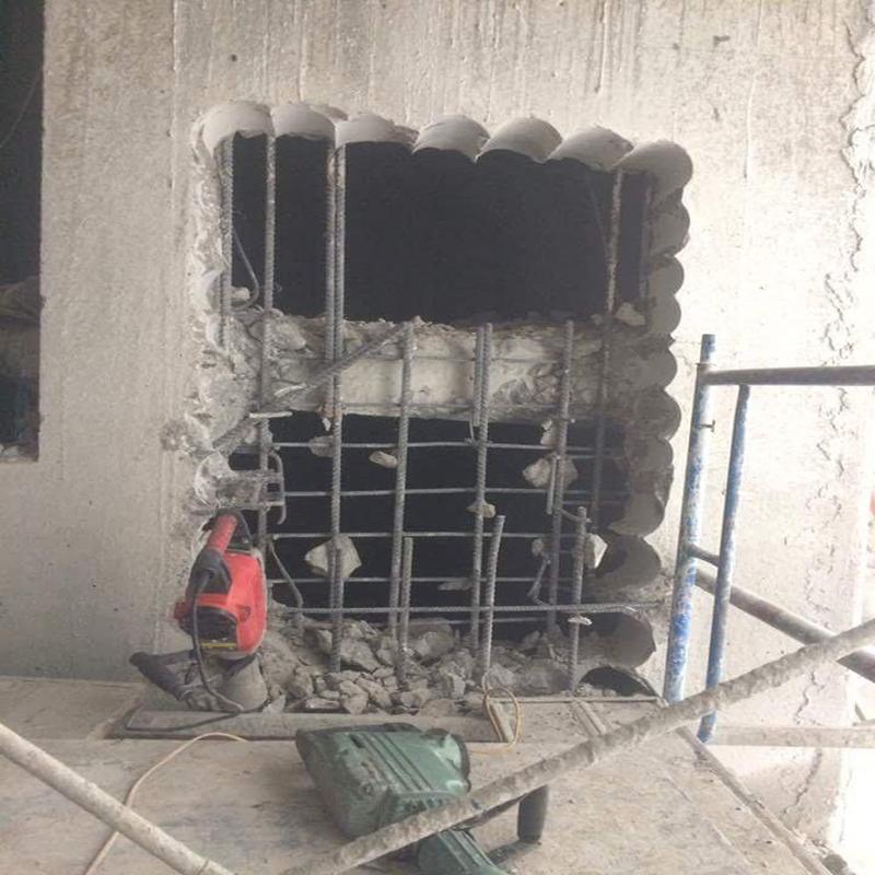 Khoan cắt bê tông khu công nghiệp Việt Hưng 2