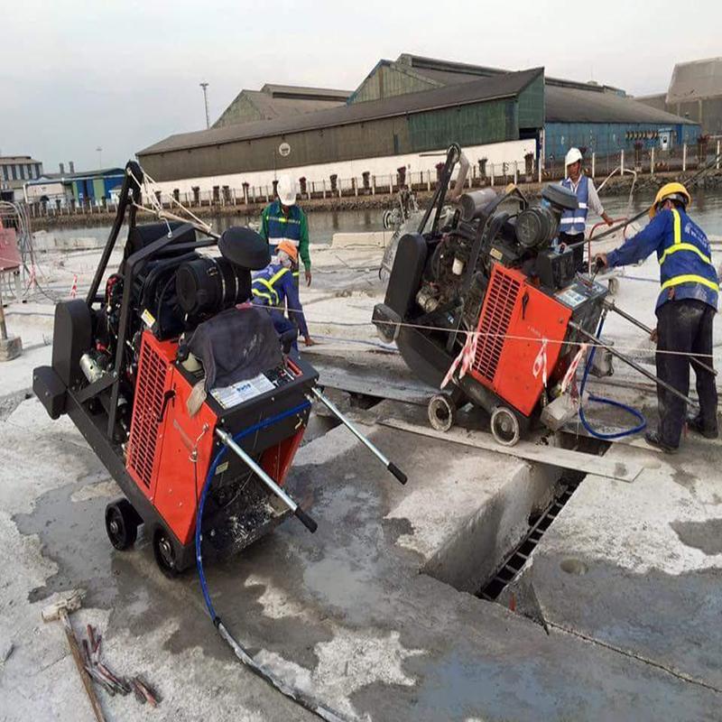 Khoan cắt bê tông khu công nghiệp Tân Tạo