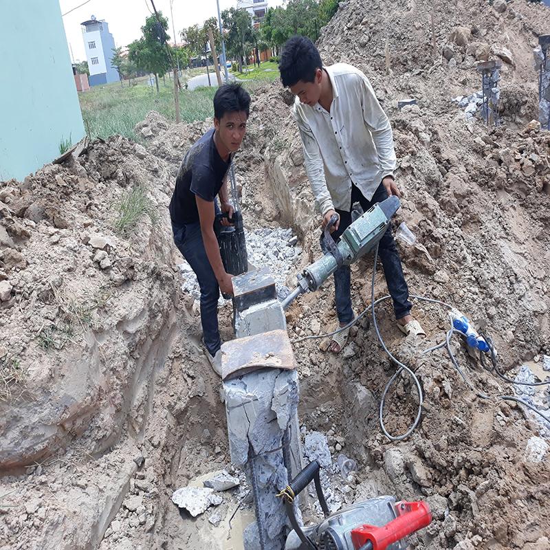 Khoan cắt bê tông khu công nghiệp Bon Chen