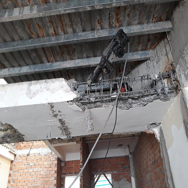 Đục phá bê tông quận Phú Nhuận