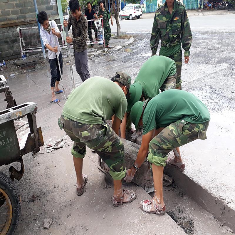 Công ty khoan cắt bê tông quận Bình Thạnh