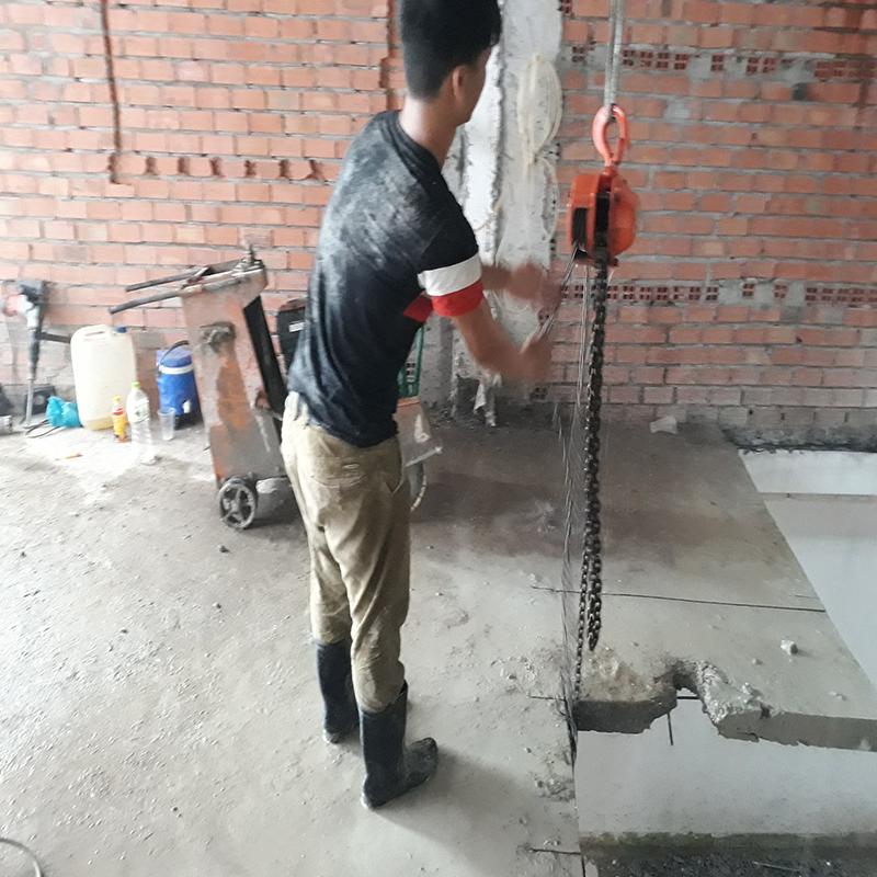 Công ty khoan cắt bê tông quận Bình Tân